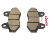 Placute de frana cross china (40mm)