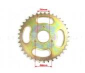Pinion spate 110-125 cc (37dinti, 428)-3 gauri