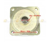 Butuc spate 110-150-200cc (ax 24mm/23 dinti) Inaltime 48mm