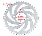 Pinion spate 110-125 cc (420, 41dinti)