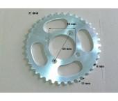 Pinion spate 110-125cc  ATV, CROSS 420/6 mm  ;  37 dinti