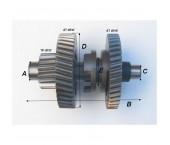 Ax schimbator directie Shineray XY250ST-9C (Bloc CF250)