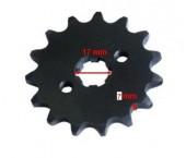 Pinion fata 110-125cc 428/16 dinti, ax 17mm
